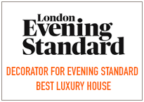 Decorator for Evening Standard Best Luxury House Winner