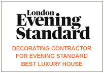 Decorating Contractor for Evening Standard Best Luxury House