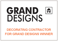 Decorating Contractor for Grand Designs Winner