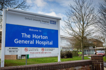 HORTON GENERAL HOSPITAL, Banbury