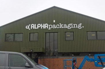 NEW CLADDING COATING – Alpha Packaging, Oxfordshire
